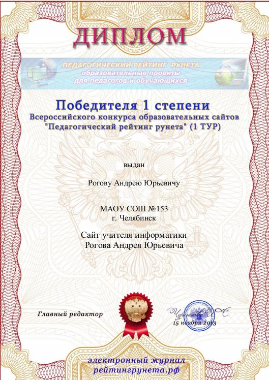 Диплом сайта